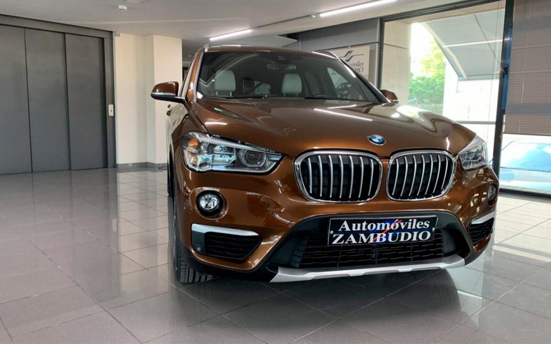 automoviles zambudio BMW X1 SDRIVE 18D XLINE AUTOMATICO 150cv 01